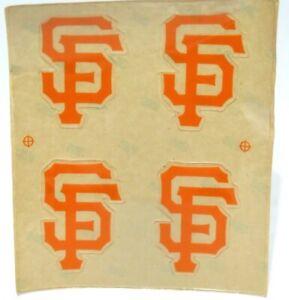San Francisco Giants MLB Baseball Batting Helmet Rawlings Decal FREE SHIP