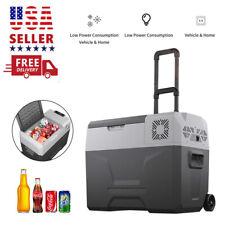 40L Car Refrigerator Portable Fridge Cooler Warmer Electric Travel Freezer 45W