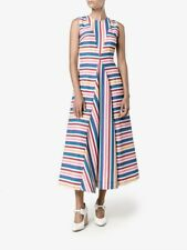 Emilia Wickstead Milly Striped Dress. Size 14