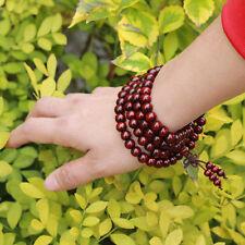 Sandalwood 8mm Prayer 108 Beads Mala Bless Buddhism Buddhist Bracelet wholesale