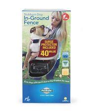 PetSafe PIG00-10777 Stubborn Large Dog Underground Wire Fence & Trainer Collar