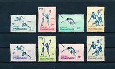Rwanda  76-83 mint, Tokyo Olympic Games, 1964
