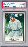 "2019 Topps Gallery #158 "" Babe Ruth "" ""NYY"" SSP PSA 10 {1/1 in the World} PSA 10"