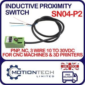 SN04-P2 Inductive Proximity Sensor Metal Detection Switch PNP NC 3 Wire 10-30VDC