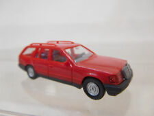 eso-3877Wiking 1:87 Mercedes 230 TE rot sehr guter Zustand