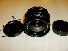 Wide angle lens Mir-1 f/2.8/37mm M42. s/n 841548 Early modification