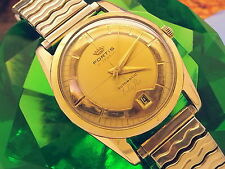 """ULTRA-RARE 1968 (FORTIS """"EDEN ROC"""") AUTOMATIC VINTAGE MENS WATCH (MSRP 1000+)"""
