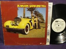 Al Wilson 'Show And Tell' PROMO LP