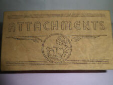 Vintage Greist Sewing Machine Attachements Illistrated Original Box