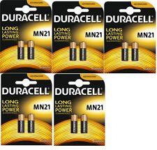 ENVOI AVEC SUIVI - 10 PILES MN21 12V Duracell  - V23GA, GP23A, E23A - DLC 2021