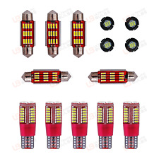 Fits Honda Civic Type R FK2 RED Premium Interior LED Kit Bright SMD Bulbs