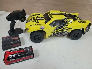 LOSI 22S - RTR 2wd brushless battery & venom charger Some traxxas slash parts