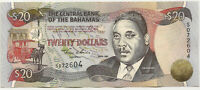2000 BAHAMAS $20 DOLLAR ~ NICE AU ALMOST UNCIRCULATED ~ PRICED RIGHT! INV# 604