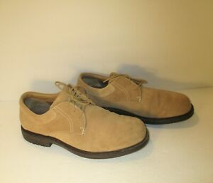 RED WING Tan Suede Derby Oxford Lace Up Plain Toe Dress Shoes-Sz-12EE
