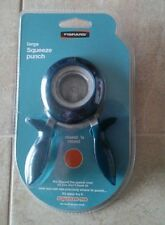 FISKARS LARGE SQUEEZE CIRCLE PUNCH ~ ROUND N ROUND ~ NEW