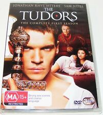 THE TUDORS : Season 1--- (DVD, 2008, 3-Disc Set, New & Sealed)