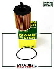 CITROEN FORD FIAT MINI PEUGEOT VOLVO OIL FILTER GENUINE MANN HU716/2X 1.4 1.6D