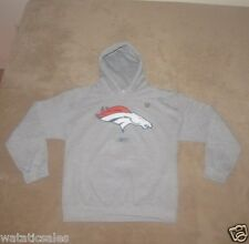 Denver Broncos Hooded Sweatshirt NFL Football Men's Small Hoodie New Reebok