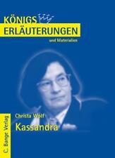 Kassandra von Christa Wolf von Christa Wolf (2008, Taschenbuch)
