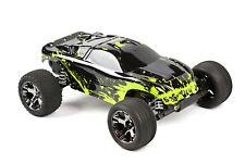 Custom Body Muddy Green for Traxxas Rustler VXL 1/10 Truck Car Shell Cover 1:10