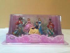 Disney Princess Play Set Cake Topper 7 Pieces Set # 1 - Ariel, Snow White, Auroa