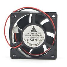 Delta AFB0624SH 6025 24V 0.21A 6CM 2-wire inverter large air volume cooling fan