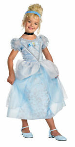 DISNEY PRINCESS CINDERELLA DELUXE TODDLER CHILD COSTUME Theme Party Halloween