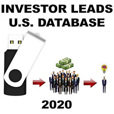 Investor Leads | 8,000+ Verified | Venture Capital, Real Estate, Private Equity