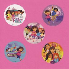 15 Dora the Explorer and Friends - Large Stickers - Party Favors