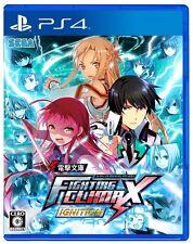 USED PS4 Dengeki Bunko - Fighting Climax Ignition SEGA GAMES F/S Japan Import