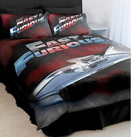 Fast & Furious Quilt Duvet Doona Cover Set | Toretto | 1970 Charger R/T | Double