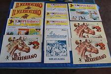 Fanzine Fumetto IL NERBINIANO COMPLETA 1973 AL 1977 CON SUPPLEMENTI