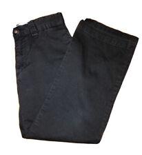 The Childrens Place Black Uniform Chino Pants Boys Size 7