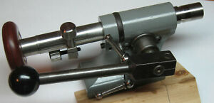 Levin Watchmakers Lathe Tailstock and Headstock