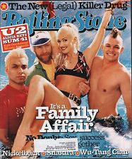 Rollingstone January 31 2002 No doubt, Gwen Stefani w/ML VG 021016DBE