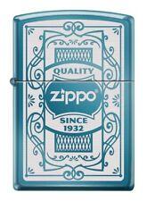 ZIPPO ★ 1932 SAPPHIRE BLUE