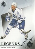 2015-16 SP Authentic Hockey #121 Doug Gilmour Toronto Maple Leafs