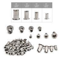 200pcs Rivet Nuts Kit M3-M6 Rivnuts Set Stainless Steel Installation Repair Tool