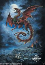 Dragon Modern Art Posters