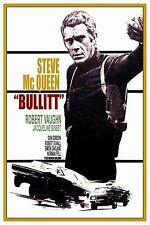 """BULLITT CLASSIC MOVIE POSTER 12"""" X 18"""" -STEVE MCQUEEN"""