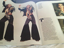 NEW Guardian Weekend Mag NOEL FIELDING Mighty Boosh Romola Garai Charlie Sheen