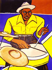 SID CATLETT PAINTING jazz drums armstrong goodman big band swing cd ellington