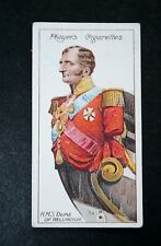 HMS Duke of Wellington    Figurehead   Vintage Illustrated Colour Card  VGC