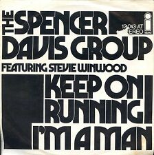 7inch SPENCER DAVIS GROUP feat STEVE WINWOOD keep on running GERMANY +PS