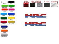 ADESIVI LOGO HONDA HRC (COPPIA)
