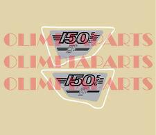 MALANCA 150 GT E2C ADESIVI FIANCHETTI STICKERS SIDE PANELS