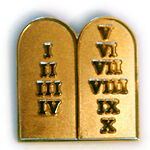 pins, Jewelry Quality Free delivery 75 New 10 / Ten commandment