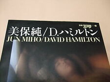 THE PHOTO BOOK OF JAPANESE FILM STAR MIHO JUN BY DAVID HAMILTON FIRST EDITION