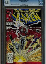UNCANNY X MEN #227 CGC 9.8 WHITE PAGES 1988 FALL OF THE MUTANTS MARC SILVERSTRI