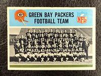 1966 Philadelphia Football Green Bay Packers Football Team #79 VG-EX Lombardi